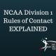 Recruiting Tip: Review of updated NCAA Division 1 rules of contact between college coaches and student athletes!